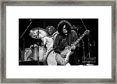 Jimmy Page-0061 Framed Print by Timothy Bischoff