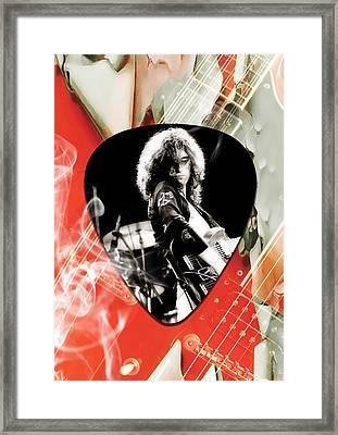 Jimmy Page Art Framed Print