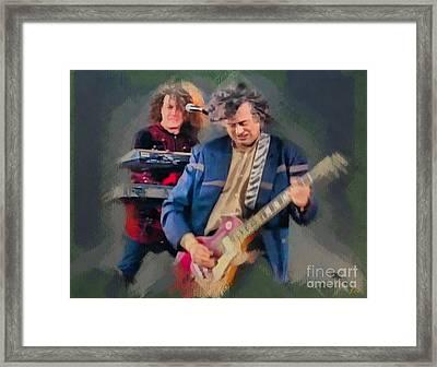 Jimmy Page Framed Print by Sergey Lukashin