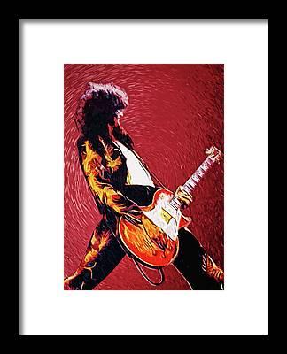 Megadeth Framed Prints