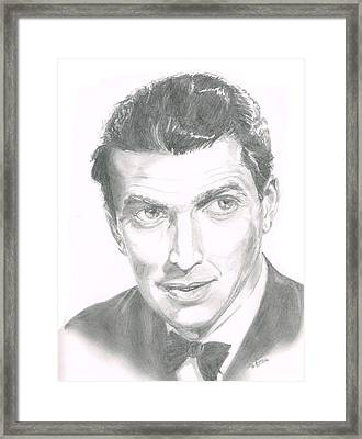 Jimmy Stewart Framed Print
