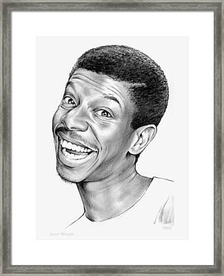 Jimmy Walker Framed Print by Greg Joens