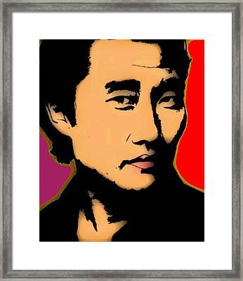 Jin-soo Kwon 1 Framed Print