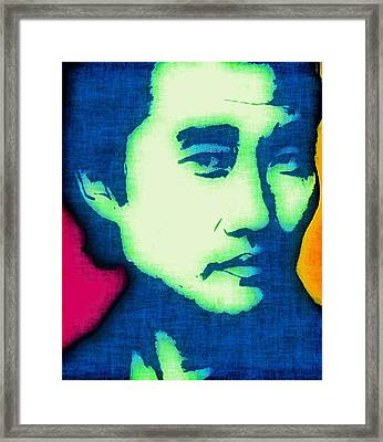 Jin-soo Kwon Framed Print