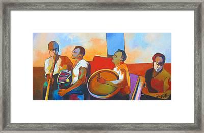 Jing  Ping Band Framed Print