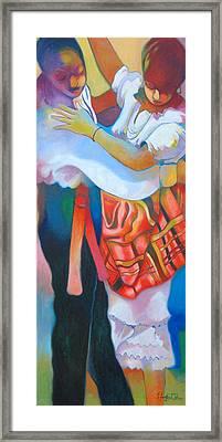 Jing Ping Dance I Framed Print