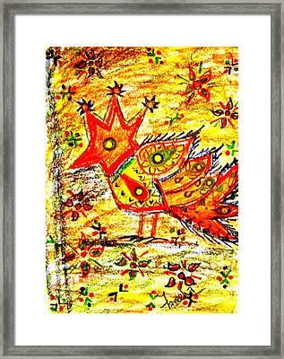 Jinga Bird II - Jinga Bird Series Framed Print