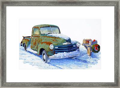 Jingle Bells Framed Print by Bob  Adams