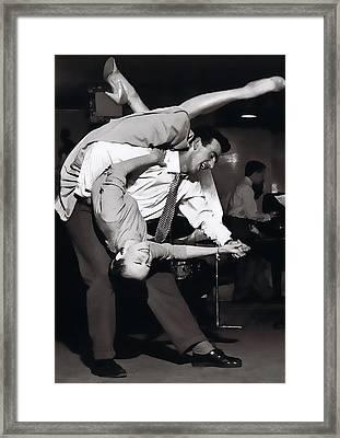 Jitterbug Joy Framed Print by Daniel Hagerman