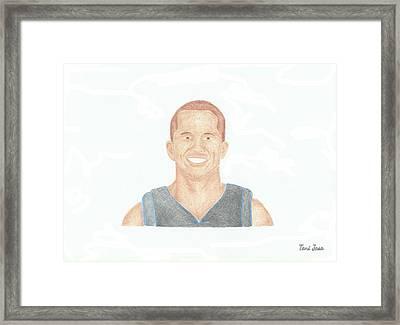 Jj Barea  Framed Print