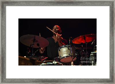 Jj Johnson With Mad Dogs And Englishmen Tribute To Joe Cocker Feat Framed Print