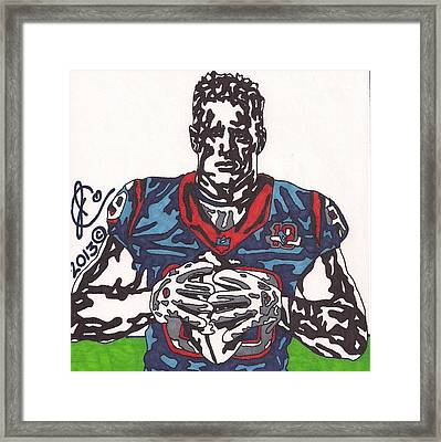 Jj Watt 2 Framed Print by Jeremiah Colley