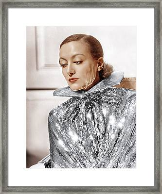 Joan Crawford, Photo By Hurrell, Ca Framed Print