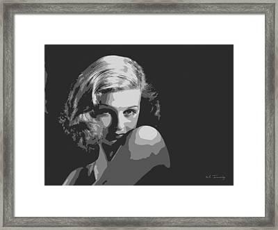 Joan Geraldine Bennett Framed Print