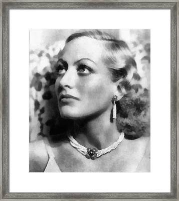 Joan Framed Print by Joseph Frank Baraba