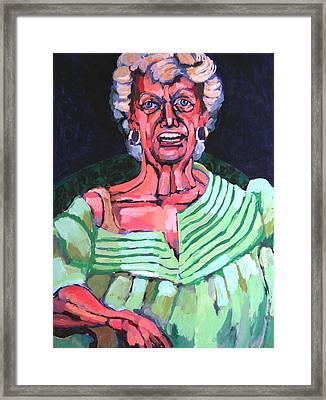 Joan Kierkegaard Framed Print