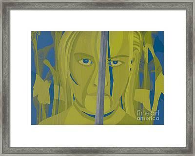 Joan Of Arc- Teach Me To Lead Framed Print