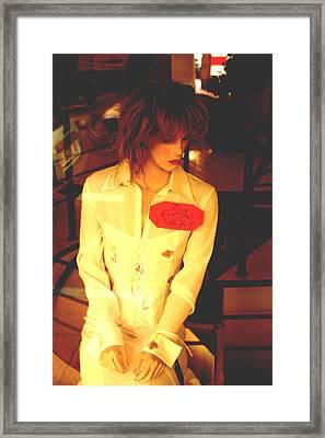 Joanna Framed Print by Jez C Self