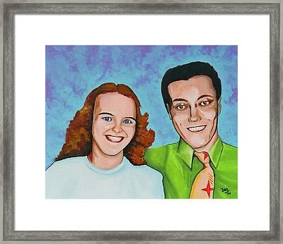 Joanne And Daniel Junod Framed Print