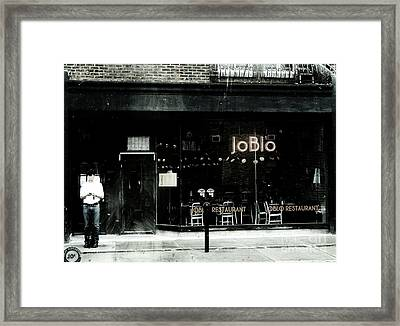 Joblo Framed Print by Reb Frost