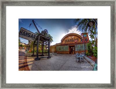 Jock Lindsey's Hangar Bar Framed Print
