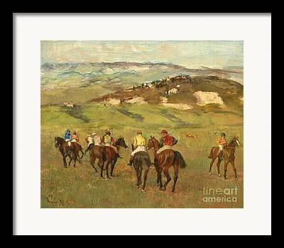 Horse Hill Framed Prints
