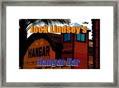 Jock's Hangar Bar Concept Art C Framed Print by David Lee Thompson