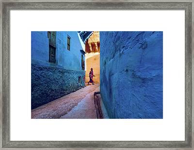 Jodhpur Colors Framed Print