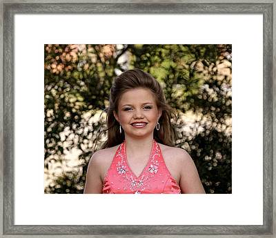 Jodi B - 3 Framed Print by Lisa Johnston
