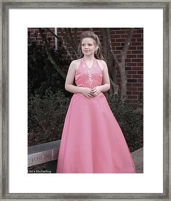Jodi B - 4 Framed Print by Lisa Johnston