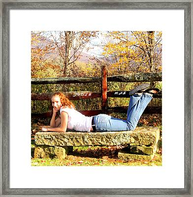Jodie Mae 3 Framed Print