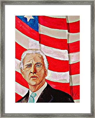 Joe Biden 2010 Framed Print by Ken Higgins