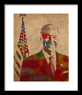 Joe Biden Framed Prints