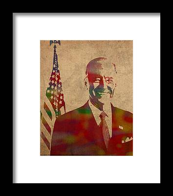 Joe Biden Framed Prints