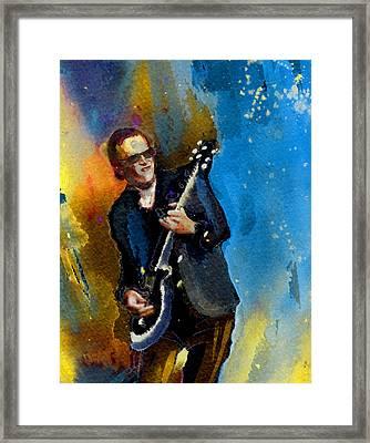 Joe Bonamassa 03 Bis Framed Print by Miki De Goodaboom