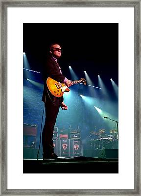 Joe Bonamassa 2 Framed Print by Peter Chilelli