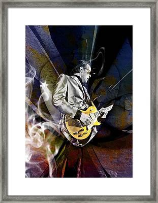 Joe Bonamassa Blues Guitarist Framed Print