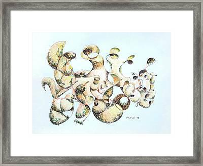 Joe Boulder Framed Print