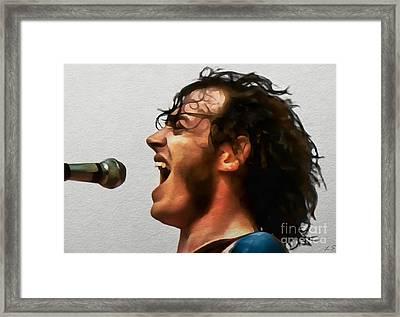 Joe Cocker 01 Framed Print