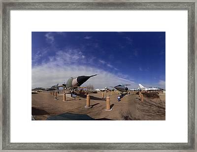 Joe Davies Heritage Airpark Palmdale Framed Print by Brian Lockett