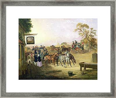 Joe Fry's Inn  Framed Print by Anson A Martin