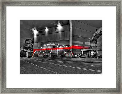 Joe Louis Arena Detroit Mi Framed Print