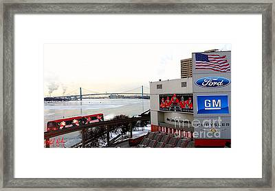 Joe Louis Arena Framed Print