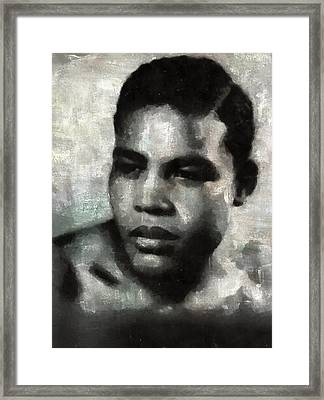 Joe Louis Framed Print