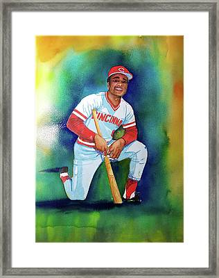 Joe Morgan #8 Framed Print