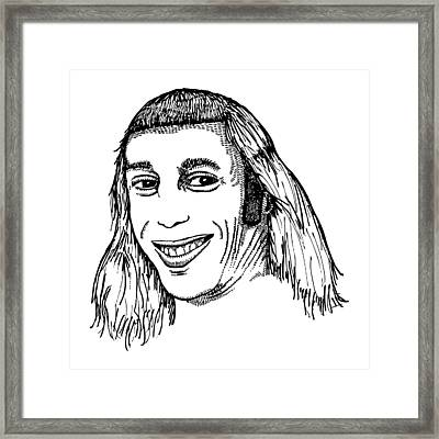 Joe Mullet Framed Print