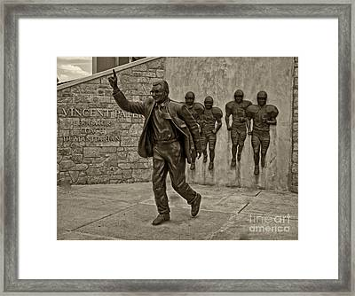 Joe Paterno Framed Print by Jack Paolini