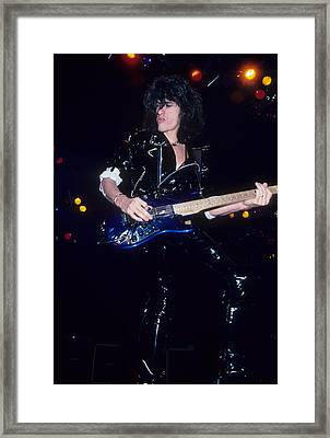 Joe Perry Framed Print by Rich Fuscia