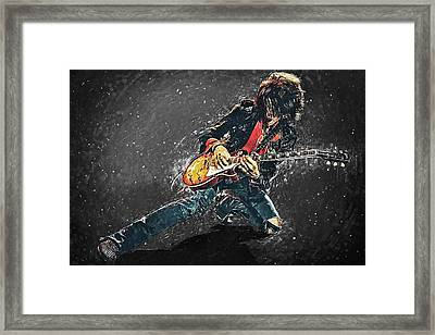 Joe Perry Framed Print