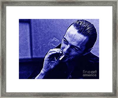 Joe Strummer Collection Framed Print